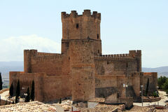 Castle Villena Royalty Free Stock Photos