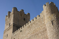 Castle of Villena, Spain Royalty Free Stock Photo