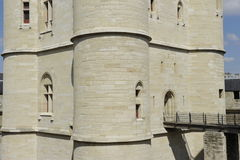 Castle of Vincennes, near Paris Royalty Free Stock Image