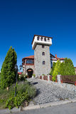 Castle with vineyard Royalty Free Stock Photos