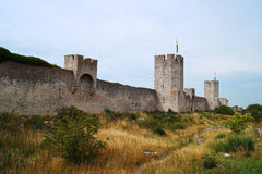 Castle in Visby Royalty Free Stock Photography