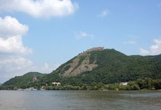 Castle of Visegrad Stock Image