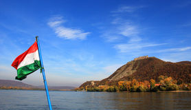 Castle of Visegrad Stock Photography