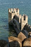 From the castle. Vision of lake from the castle Royalty Free Stock Photos