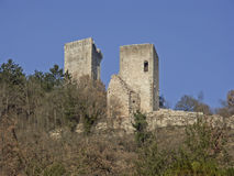 Castle in Visso Royalty Free Stock Photography