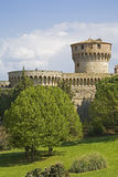 Castle in Volterra Royalty Free Stock Images