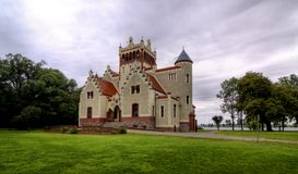 Castle von Treskov Stock Photography