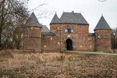 Castle Vondern - Oberhausen - Germany. Historic Castle Vondern - Oberhausen - Germany Royalty Free Stock Images