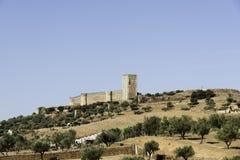 Castle vora portugal Stock Photo