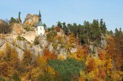 Castle Vranov, Czech republic Royalty Free Stock Photos