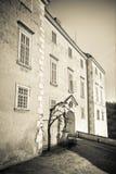 Castle Vranov nad Dyji. Vranov nad Dyji Castle, Czech Republic Royalty Free Stock Photos