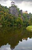 Castle Vranov nad Topľou. Czech republic Stock Photos