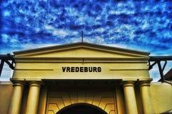 Castle. Vredeburg in jogjakarta Royalty Free Stock Photo
