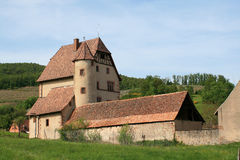 Castle of Walbach, Alsace Royalty Free Stock Images