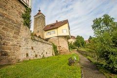 Castle of Waldenburg, Germany Royalty Free Stock Photo