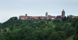 Castle Waldenburg in Hohenlohe Royalty Free Stock Image