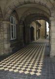 Castle walkway Stock Photo