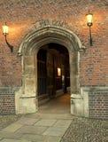 Castle walkway Royalty Free Stock Image