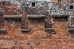 Castle wall Stock Image