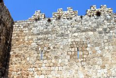 Castle Wall Royalty Free Stock Image