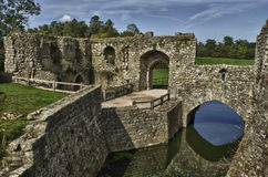 Castle wall Stock Photography