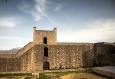 Castle wall Stock Photo