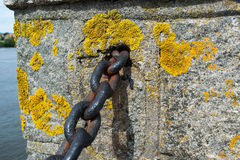 Castle Wall, Chain Stock Photography