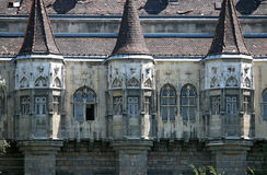Castle wall detail Budapest Hungary. Old castle wall detail Budapest Hungary royalty free stock photography