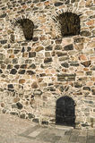 Castle wall detail Royalty Free Stock Photography