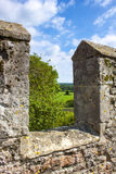 Castle wall Royalty Free Stock Photos