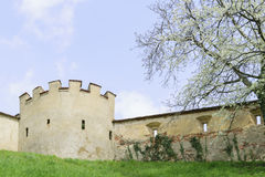 Castle wall Riegersburg Austria Royalty Free Stock Photo