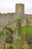 Castle wall. Walls and towers of the fortress in Belgorod-Dniester Stock Photography
