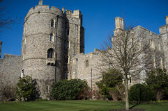 Castle wall at Windsor Royalty Free Stock Photography