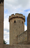 Castle walls and towers Royalty Free Stock Photography