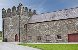 Castle Ward. In the Northern Irish town of Strangford Royalty Free Stock Photo