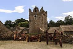 Castle Ward Royalty Free Stock Photo