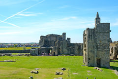 Castle, Warkworth, England Royalty Free Stock Photo
