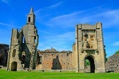 Castle, Warkworth, England Royalty Free Stock Photo