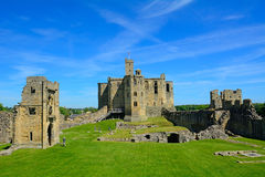 Castle, Warkworth, England Stock Photos