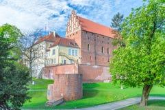 Castle of Warmian Bishops in Olsztyn. Castle of Warmian Bishops in Olsztyn in Poland Stock Photography