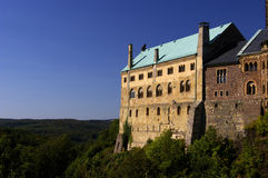 The castle of Wartburg stock images