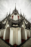 Castle. The castle was once the king of metal The current church in Buddhism Near Ratchadamnoen Avenue Royalty Free Stock Photos