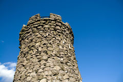 Castle Watch Tower Royalty Free Stock Images