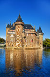 Castle on water Royalty Free Stock Photo