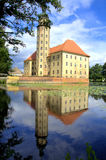 Castle on the water (Germany). Historical castle on the water (Germany Stock Photography