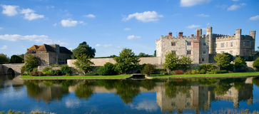 Castle water and sky Royalty Free Stock Photo