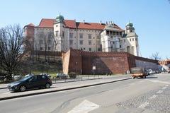 Castle of wawel Royalty Free Stock Photo