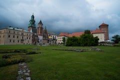 Castle Wawel in Krakow Royalty Free Stock Photography