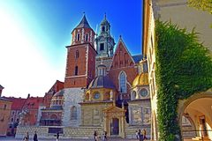 Castle of Wawel Stock Photos