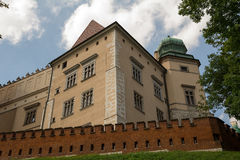Castle Wawel. The Royal Castle on Wawel Hill (Krakow, Poland Stock Photo